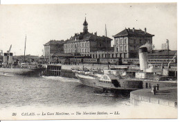 62 CALAIS - La Gare Maritime - Calais
