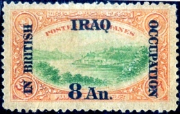 IRAQ-UNDER BRITISH OCCUPATION-8Anna-SCARCE-B9-480 - Iraq