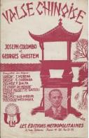 Partition De Joseph COLOMBO Georges GHESTEM - Valse Chinoise - Musik & Instrumente