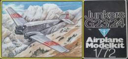 Junkers G23/G24, Veb Plastikart 1/72e - Vliegtuigen