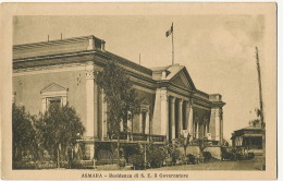 Asmara Residenza Di S.E. Il Governatore  Edit Scozzi Attilio Beltrama Asmara - Erythrée
