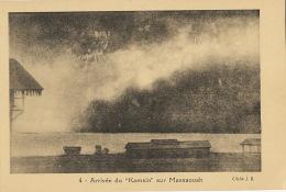 """4 Arrivée Du """" Kamsin """" Sur Massaouah Cliché J.B. - Erythrée"""