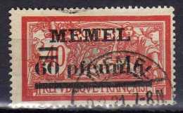 Memel 1920 Mi 24, Gestempelt [300416XIV] - Memelgebiet