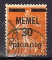 Memel 1920 Mi 21, Gestempelt [300416XIV] - Memelgebiet