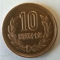 Monnaie - Japon -  10 Yen -  (?)  - - Japan