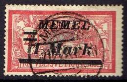 Memel 1922 Mi 64, Gestempelt [300416XIV] - Memelgebiet