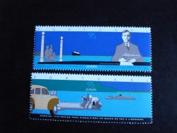 """Portugal - Europa 1995 """"Paix & Liberté"""" - Y.T. 2052/2053 - Neuf (**) Mint (MNH) Postfrisch (**) - Europa-CEPT"""