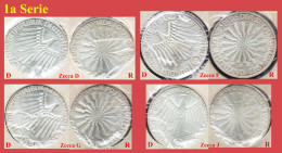 OLYMPIC SILVER COINS, MONETE ARGENTO OLIMPIADI - WEST GERMANY, WEST DEUTSCHLAND, GERMANIA OVEST - MUNCHEN, MONACO 1972 - [ 7] 1949-… : FRG - Fed. Rep. Germany