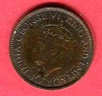 1 CENTS 1945  (KM1111 ) TB 2,5 - Sri Lanka