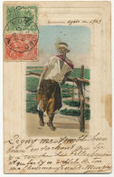 Montevideo Gaucho  Cuadro Pintor Blanes Maximum Card  1903 Edit Testasecca - Uruguay
