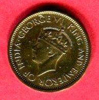 50 CENTS 1943 (KM116 ) TB+ 3 - Sri Lanka