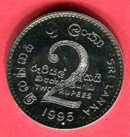 2 ROUPIES (KM) SUP 3 - Sri Lanka