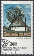 "1601 Germania Democratica 1974 "" Fischerhaus In Vitte "" Quadro Dipinto Da H. Hakenbeck Paintings  DDR - [6] Democratic Republic"