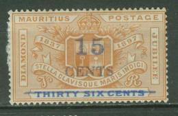 MAURITIUS..1899..Michel # 89...MH. - Mauritius (...-1967)