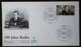 ALLEMAGNE - FDC 1995 - YT N°1635 - CENTENAIRE DE LA RADIO - BONN - BRD