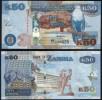 Zambia P 53 - 50 Kwacha 2012 2013 - UNC - Zambia