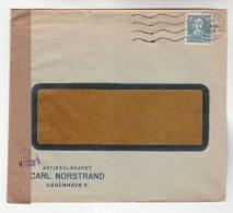1948  DENMARK CENSOR Stamps COVER Censored - Denmark