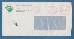"208155 / 1990 - 060.00 LISBOA  Meter Stamp "" Gabinete Português De Carta Verde "" , Portugal - 1910-... República"
