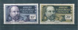 France Colonie  Timbres  D´AEF De 1937/42  N°61/62  Neufs ** - A.E.F. (1936-1958)