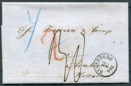 1864 Denmark Svendborg Copenhagen Lubeck Entire -  Arnheim, Netherlands - Danimarca