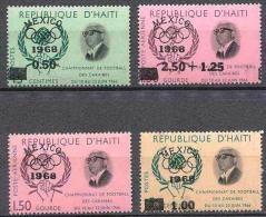 HAITI Jeux Olympiques MEXICO 68. Yvert N° 591/92 + PA 361/62 ** MNH - Verano 1968: México
