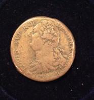 CONSTITUTION  - 2 SOLS Type FRANCOIS 1791 B - 1789 – 1795 Monedas Constitucionales