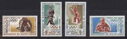 HAUTE VOLTA Jeux Olympiques MEXICO 68. Yvert N° PA 54/57 ** MNH - Summer 1968: Mexico City