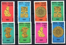 PARAGUAY Jeux Olympiques MEXICO 68  Yvert N°837/41+PA 430/32 ** MNH - Summer 1968: Mexico City