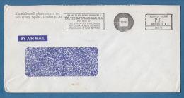 """208197 / 1989 - P.P. BRUXELLES Meter Stamp """" DELTEC INTERNATIOMAL S.A. """"  Belgique Belgium Belgien - Belgium"""