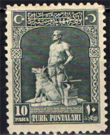 TURCHIA - 1926 - BOZ KURD E IL SUO LUPO - NUOVO MNH - 1921-... Republik