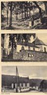 Ouren - Lot 3 Cartes : Ecole Communale - Une Station - L'Eglise - Burg-Reuland