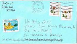 17786. Carta MINNEAPOLIS (MN) 2001. Vignette, Label - Etats-Unis