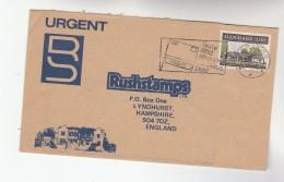 1984 DENMARK COVER 3.00 Danish INN Stamps To GB - Denmark