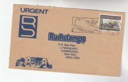 1984 DENMARK COVER 3.00 Danish INN Stamps To GB - Cartas