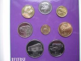 MOZAMBIQUE Mocambiqe 1994 8 Coin Coinage Set BUNC 1-1000 Meticais Sealed Folder - Mozambique