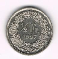 1/2 Franc Suisse - Helvetia Debout - 1979 B. - Suisse
