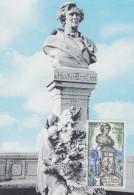 Carte  Maximum  FDC   1er Jour   MONACO   Hector   BERLIOZ   1969 - Cartes-Maximum (CM)