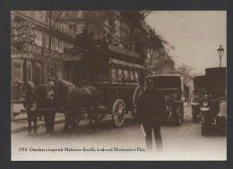 DF / 75 PARIS / OMNIBUS À IMPÉRIALE MADELEINE-BASTILLE, BOULEVARD MONTMARTRE / THÉÂTRE PATHÉ - OMNIA CINEMA - Transporte Público