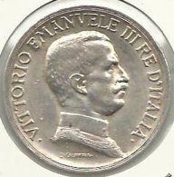 ITALIA - ITALY 1 LIRA 1915 PICK KM57 XF SILVER - 1861-1946 : Regno