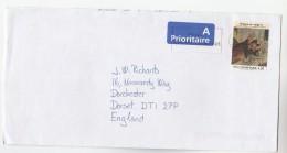 DENMARK COVER Stamps 4.50 MILLENIUM Jensen CARTOON To GB - Denmark