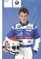 Antonio Garcia  -  Team BMW Italy-Spain  -  Carte Promo - Grand Prix / F1