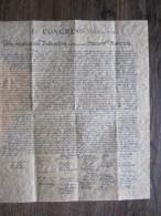 """1976-USA-FAC/SIMilé De""""LA Déclaration D'indépendance Des États-Unis"""",4/07/1776-BICENTENAIRE -original Acheté Sur Place! - Old Paper"""