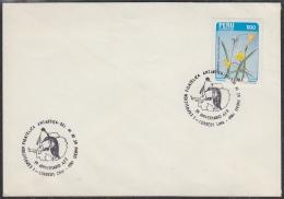 Peru 1984 Antarctica / 1 Exposicion Filatelica Antarctica Cover (29490) - Peru