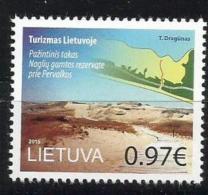 Litauen, 2015, 1190, Fremdenverkehr: Kurische Nehrung. MNH ** - Lithuania