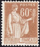 FRANCE  1937-39  -  Y&T 364  -   Paix  60c   -  NEUF** - 1932-39 Paix