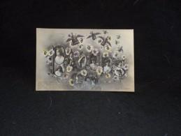 """Pâques """" 1905 """" . Idéal Pour Début D ' Album. Fait Titre. Carte Photo . Femmes De H . Manuel. - Pâques"""