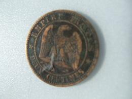 POCH4 -  2 CTS 1856 A - D. 10 Centimes