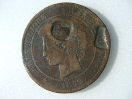 POCH4 -  10 CTS 1872 - France