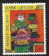 Litauen, 2015, 1198, Tag Der Bildung Und Des Wissens. MNH ** - Lituania