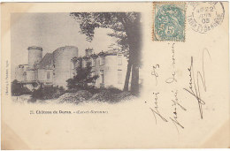 47 - Château De Duras - BE - éd Perret N°21 - France